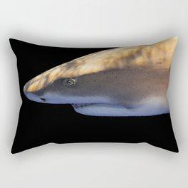 Lemon Shark Backdrop Rectangular Pillow