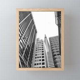 San Francisco city Framed Mini Art Print