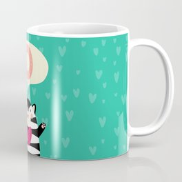 hello oliver! olivia!  Customizable. Coffee Mug
