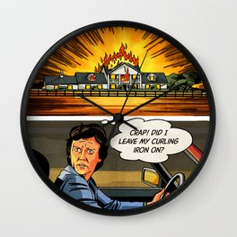 DALLAS – Bobby's Secret Wall Clock