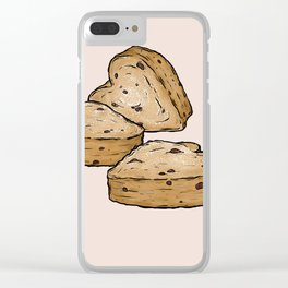 Q is for Queen Cake Clear iPhone Case