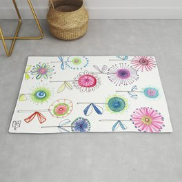 Flowers for the Soul Rug