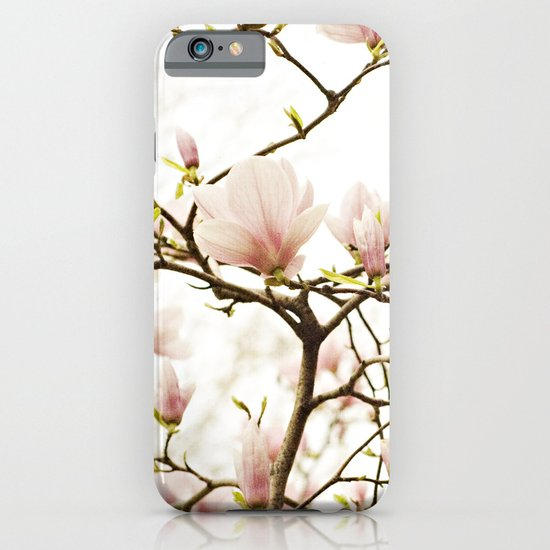 Queen For A Day Pink Magnolia Flower iPhone & iPod Case