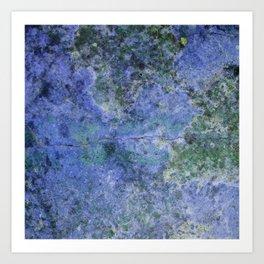 Moment of Epiphany: Purple-Lilac Version Art Print