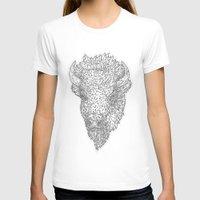bison T-shirts featuring Bison by Takashi  Ariyoshi