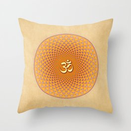 Lotus / Namaste Throw Pillow
