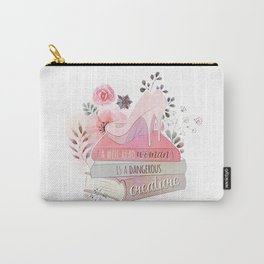 A WELL-READ WOMAN Carry-All Pouch