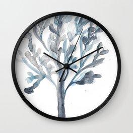 Watercolour Tree 5 |Modern Watercolor Art | Abstract Watercolors Wall Clock