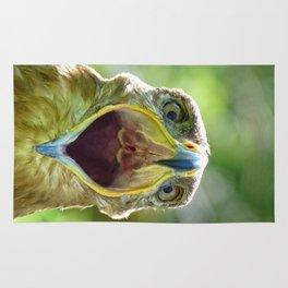 Screaming Steppe Eagle Rug