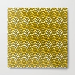 Op Art 156 Metal Print