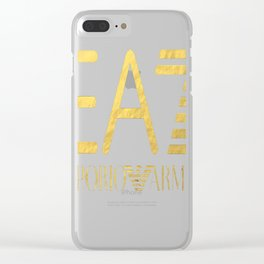 emporio armani Clear iPhone Case