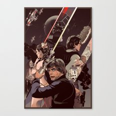 Duel of Fates Canvas Print