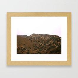 Glendale Peaks & Valleys Framed Art Print
