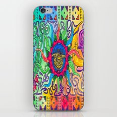 The Blazing Sun iPhone & iPod Skin