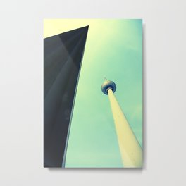 Berliner Tower Metal Print