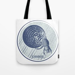 Insect's badge. Scarabaeus. Tote Bag