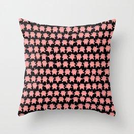 Doing Cardio Throw Pillow