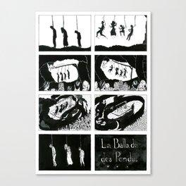 Ballad of the hanged Canvas Print