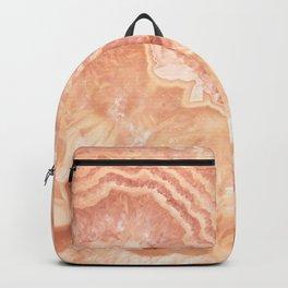 Champagne onyx marble Backpack