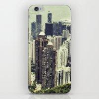 hong kong iPhone & iPod Skins featuring Hong Kong by Martin Llado