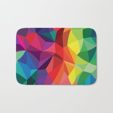 Color Shards Bath Mat