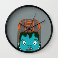 sports Wall Clocks featuring Sports?! by Aron Gelineau