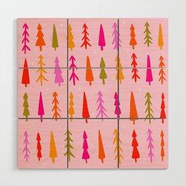 Tree Print Wood Wall Art