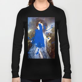 Blue Bomb Long Sleeve T-shirt