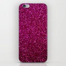 Pink Glitter iPhone Skin