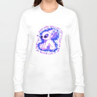 ohana Long Sleeve T-shirts featuring Ohana Means Family by Christina