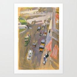 Fifth Avenue New York - Bastida Art Print