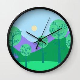 Kawai Landscape Wall Clock