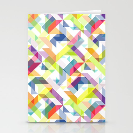 Aztec Geometric II Stationery Cards