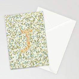 """""""J"""" Eye Test Full Stationery Cards"""