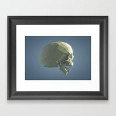 Skull - ROAR Framed Art Print