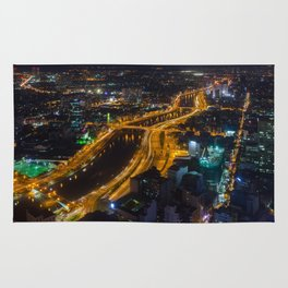 Ho Chi Minh By Night Rug