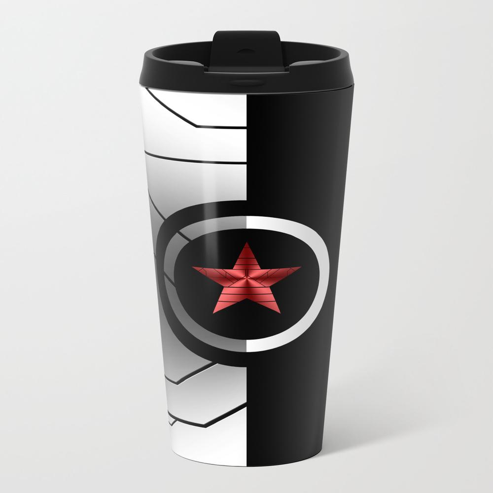 Winter Soldier Metal Travel Mug by Skyland MTM6685895