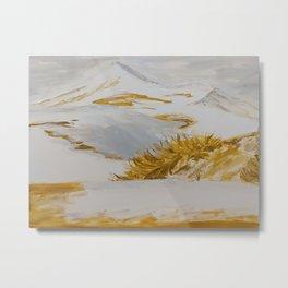 Winter Desert Metal Print