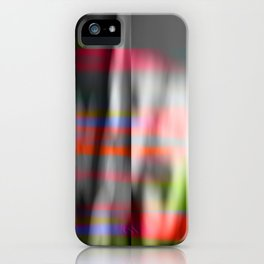 veiled colors iPhone Case