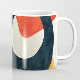 Union & Stride I - Modern Retro Abstract Coffee Mug
