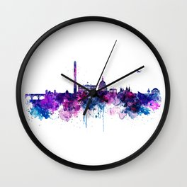 Washington DC Skyline Wall Clock