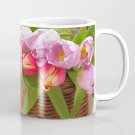 Tulip in a basket Coffee Mug