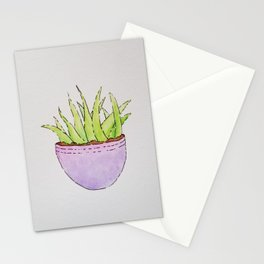 Simple Succulent No. 1 Stationery Cards
