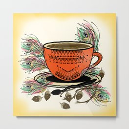 My Tea Metal Print