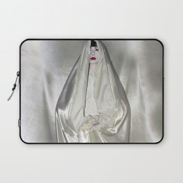 """say no to patriarchy / """"the virgin"""" Laptop Sleeve"""