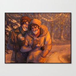 Snow Dorks Canvas Print
