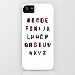 Alphabet - JOY! iPhone Case