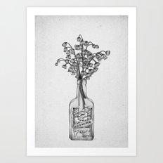 Les Fleurs IV Art Print