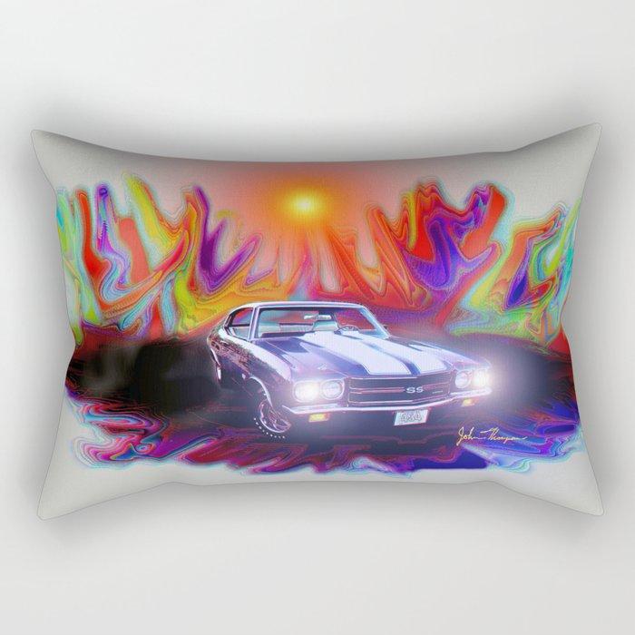 70 454 Chevelle SS Rectangular Pillow