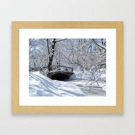 Magical park Framed Art Print